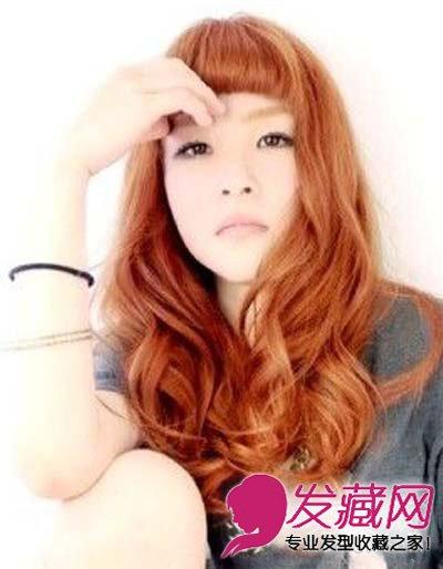 个性短刘海发型 超短齐刘海更能修饰脸型(9)