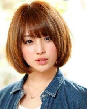 齐耳的短发发型图片 简单中不乏时尚感图片