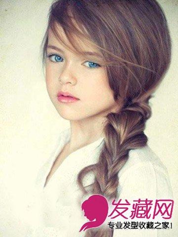 六一儿童节 适合小女孩的9款可爱发型图片(2)