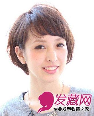 简单短发碎发发型 魅力层次梨花头发型(3)图片