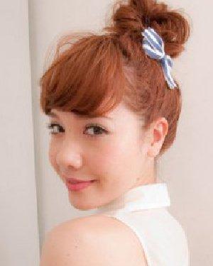 怎么扎好看花苞头 刘海修饰出完美的脸型