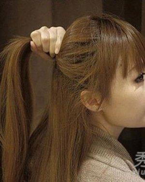 清新瘦脸编发图解 辫子发型绽放纯美气质