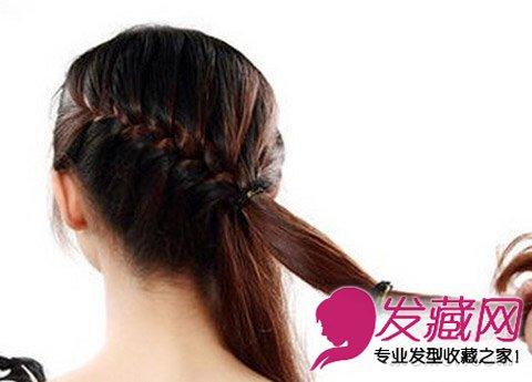 长发小清新森女 →鱼骨辫编发教程 简单辫子发型可爱加倍 →知性成熟