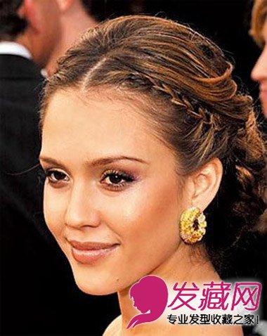 甜美的花苞头发型 明星清爽发型学起来(4)
