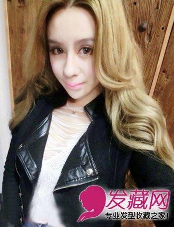 范冰冰高彩琪发型 长卷发时尚靓丽(2)
