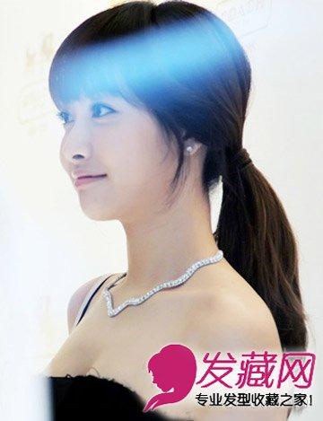 宋茜发型图片 宋茜甜美韩式发型赏析(2)图片