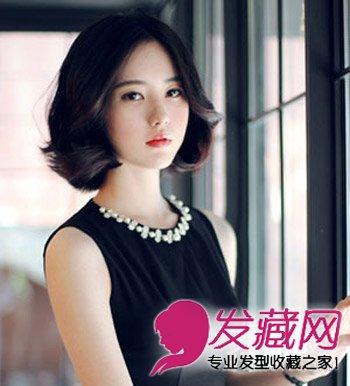 女生个子矮适合什么发型(4)  导读:ol必选的一款韩式短卷发烫发,短发图片