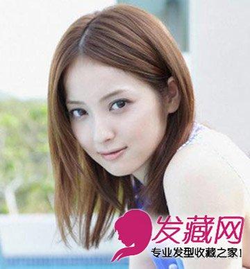 长刘海发型更显唯美气质 什么脸型最适合留中分(7)图片