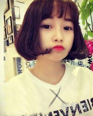 韩式发型怎么烫 小清新齐肩发烫发最时尚