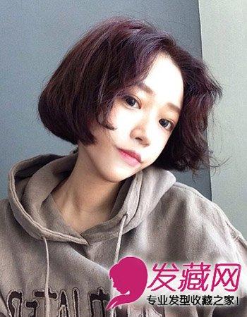 韩式发型怎么烫 小清新齐肩发烫发最时尚(3)