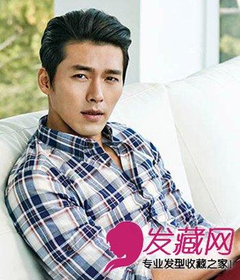 男星玄彬帅气短发发型 帅气的斜庞克发型(5)图片