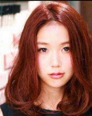 菱形脸适合什么颜色发型 靓丽染发显白显瘦图片
