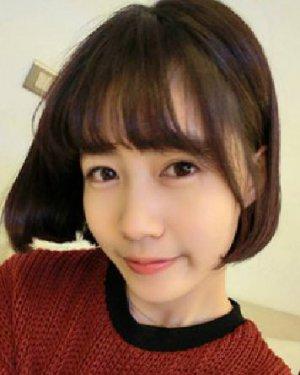 韩味十足的矮个子女生发型设计短发发型显高更时尚