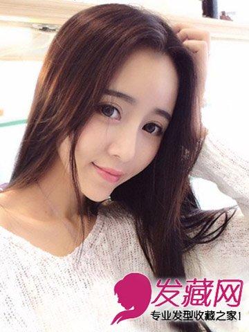 方脸适合什么发型 方脸女生适合的发型(7)  导读:清新靓丽的韩式中分