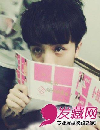 中国好声音夏恒发型 萌帅发型青春阳光发型(7)