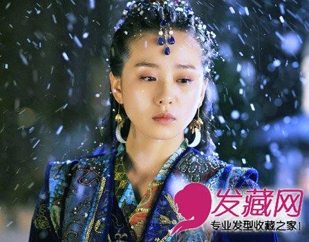 刘诗诗唐嫣赵丽颖 清新脱俗的古典气质(5)