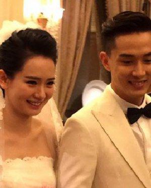 戚薇李承铉赌城完婚 戚薇的新娘发型