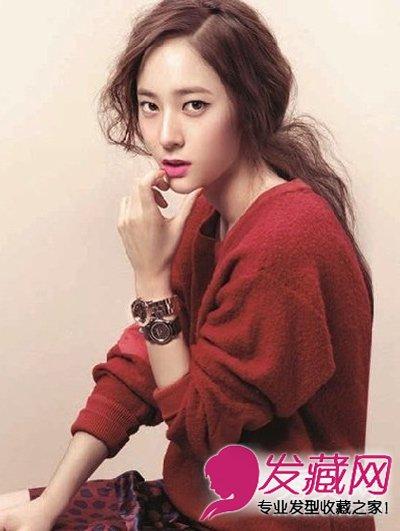 【图】《可爱的她》郑秀晶的空气感刘海发型(7)
