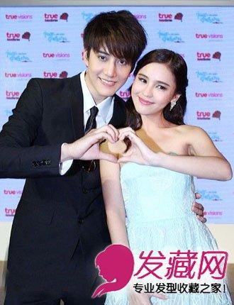 泰星son和赵丽颖-mikeaom首秀年代秀 有爱情侣造青春帅气 2图片