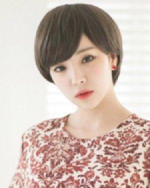 最新韩式短发发型 时尚减龄超有