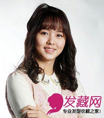 随性扎发 碎剪的齐刘海发型(8)