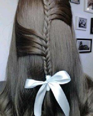 9款韩式编发发型 超仙一眼就能美哭你