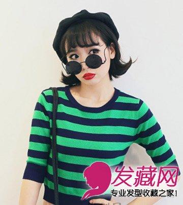 韩式波波头卷发发型 韩式烫发显潮范图片图片