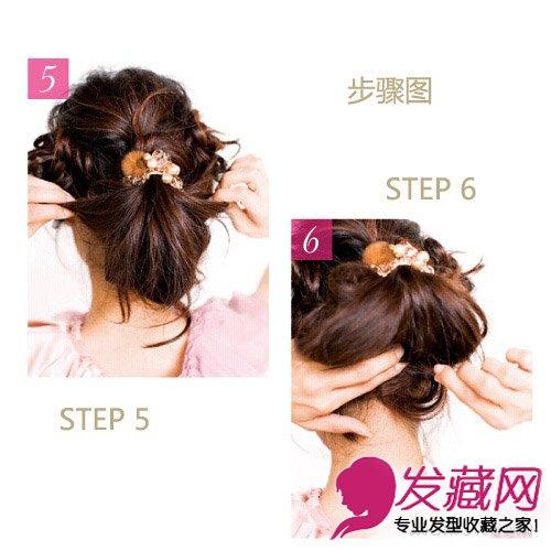 扎头发的方法 马尾辫扎法瞬间抢镜(9)图片