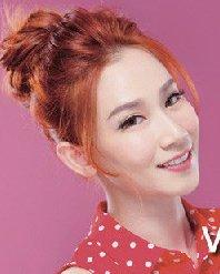 花苞头造型般的丸子头 韩剧女主最爱发型扎法图解