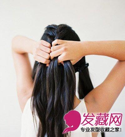 原来筷子和丝袜也能做卷发 →蜜糖色发色空气刘海卷发 空气刘海短发图片