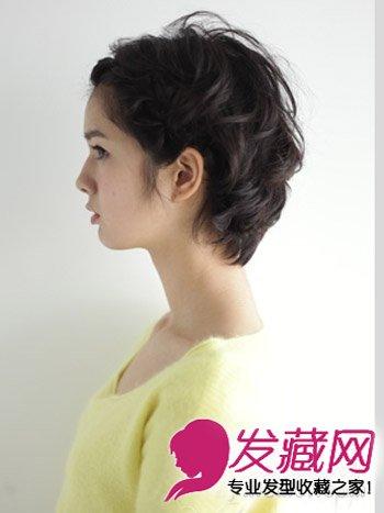 短发怎么扎起来 刘海编发简单有型(2)图片