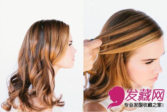 法式瀑布编发发型图解 美到令人窒息(3)