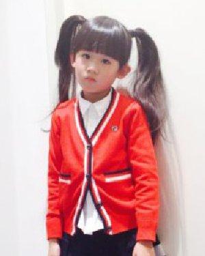 陆毅女生双马尾超萌 可爱的双马尾发型