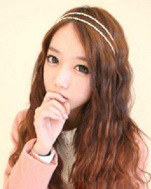 个性韩式波纹发型 别致的复古气息