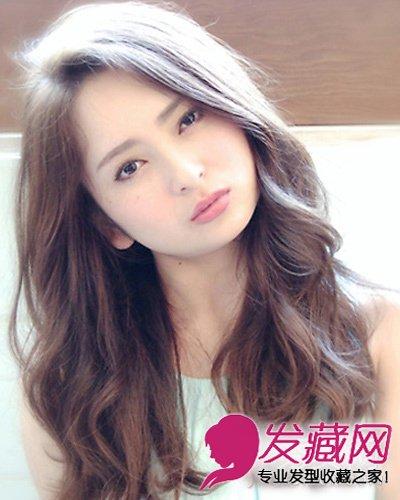 棕色韩式短发发型 甜美发型脱单变女神(5)