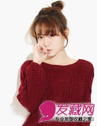 最受欢迎韩国发型top10 韩国高中女生发型(2)