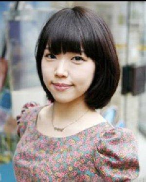 > 韩版中短发发型扎法