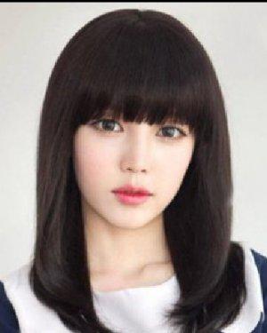 韩式校园女生发型 时尚甜美的梨花头