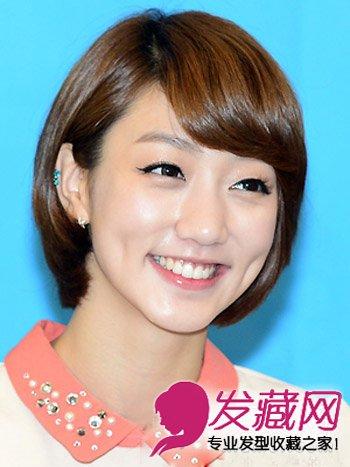 短发怎么弄好看 ol日常清爽韩式短发发型(5)