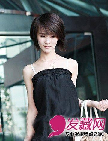 棕色系的短发发型设计 2015流行齐肩发分享(7)