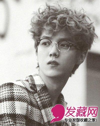 9款男士短发图片 可爱的男生波波头发型设计 →《我是证人》鹿晗