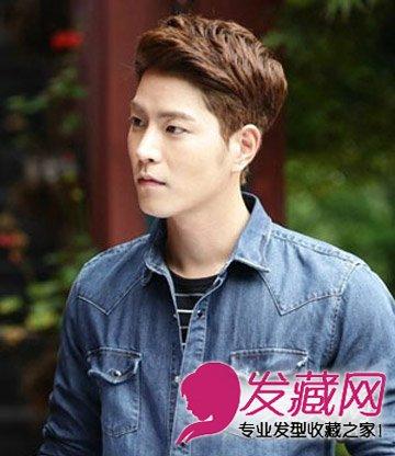 韩国男生发型 帅气又时尚的男士短发发型(5)图片