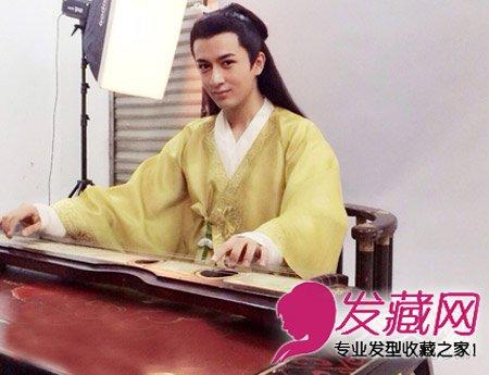 美人制造古装美男张易之扮演者米热发型(5)