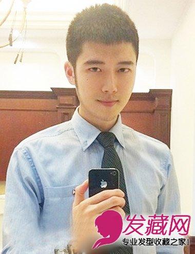 2015男生必学潮流发型 卡尺头是圆寸头发型(一)