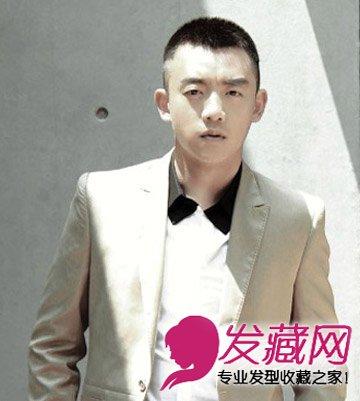 跑男郑恺发型魅力的寸头男人诠释短发黑色范夏天短头发怎样盘好看图片