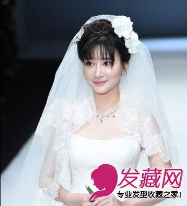 明星婚纱照秀不停 杨紫齐刘海盘发超甜美(5)图片