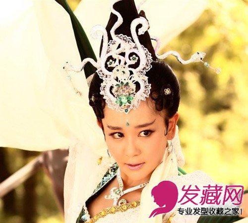 剑侠海陆发型雷人 米老鼠格格变美艳蛇精(3)图片