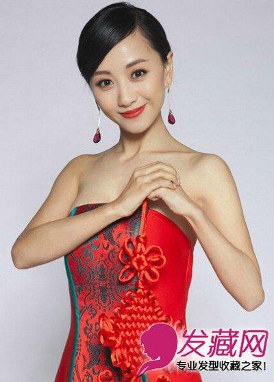 女明星发型 > 娜扎佟丽娅 丸子头发型甜美可爱(8)  导读:杨蓉(白族)