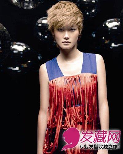 李宇春成时尚方脸代言人 简约的短发发型 7图片