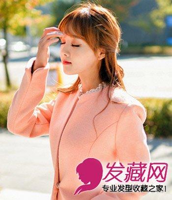 潮流发型小清新编发 简单扎发甜美长发淑女(2)